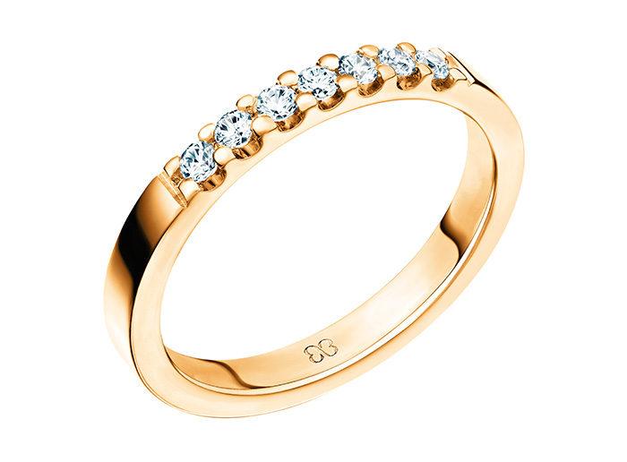 Zelta gredzens ar briliantiem