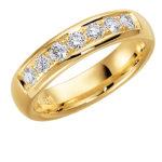 Saderināšanās gredzens, gredzens ar briliantiem