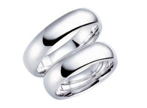baltā zelta gredzeni, matēti baltā zelta gredzeni, gredzeni no baltā zelta, cena baltā zelta gredzeniem, Laulību gredzeni, baltais zelts