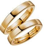 gredzenu, komplekts, Klasiskie laulību gredzeni