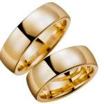 Klasiskie laulību gredzeni