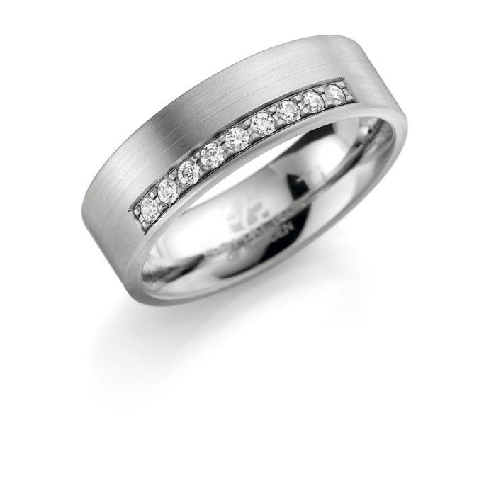 Titāna gredzeni, gredzeni no titāna