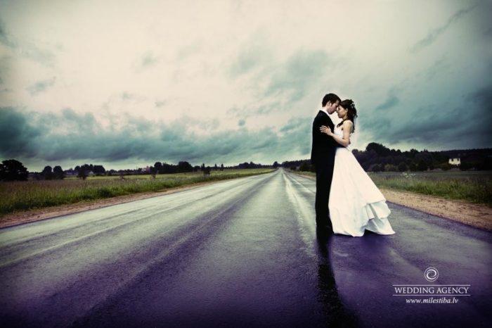 kāzu fotogrāfijas, jaunais pāris