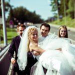 kāzu tradīcijas, tilts kāzās