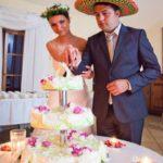 kāzas Billes namā