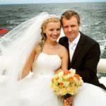 jūras kāzas, jahta kāzās