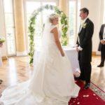 karaliskas kāzas. laulību ceremonija Mežotnes pilī