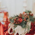 ziemas kāzas, Ziemassvētku noformējums kāzās