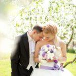 kāzas Dobeles ceriņdārzā