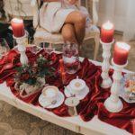 sarkanie toņi kāzās, ziemas kāzas
