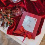 Ziemassvētku dekori kāzās, ziemas kāzas