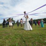 kāzu atrakcijas pie dabas