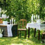 kāzu dekorācijas, Jānis un Signija Vinteri, romantiskais galdiņš