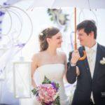 kāzu dekorācijas, jaunais pāris