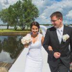 jaunais pāris, kāzu fotogrāfijas