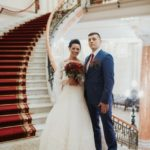 kāzas Nacionālajā Mākslas muzejā, trepes kāzās