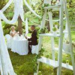 romantiskais galdiņš jaunajam pārim
