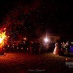 kāzu vakars, ugunskurs kāzās