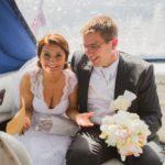 kāzu tēma pilots, jaunais pāris
