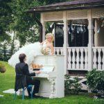 klavieres kāzās, kāzu fotosesija, Vinteri