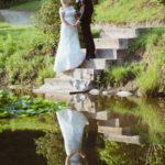 kāzu foto pie dabas