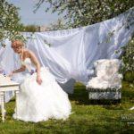 kāzu rīts Dobeles ceriņdārzā