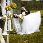 kāzu foto, jaunais pāris