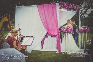 kāzu ceremonija, stīgu kvartets laulību ceremonijā