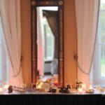 karaliskas kāzas, Mežotnes pils