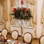 Ziemassvētku noskaņa ziemas kāzās