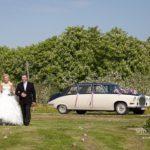 retro kāzu auto