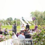 kāzu ceremonija Dobeles ceriņdārzā