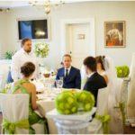 Skrundas muiža kāzās