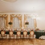 ziemas kāzas, sarkans un zaļš kāzās
