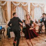 viesu dejas kāzās, ziemas kāzas