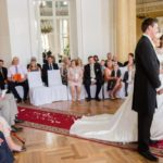 kāzas Mežotnes kupola zālē