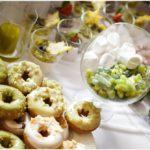 kāzu saldumu galds, virtuļi kāzās