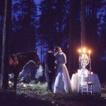 ģimeniskas kāzas, kāzu foto vide