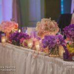 kāzu galda dekorācijas, kāzu floristika