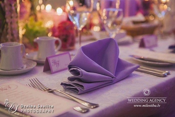 kāzu galdu noformējums