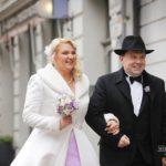 mazas kāzas, jaunais-pāris