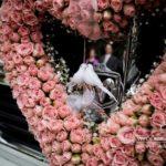 kāzu rožu sirds