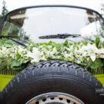 oriģināls kāzu auto