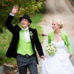 zaļā krāsa kāzās