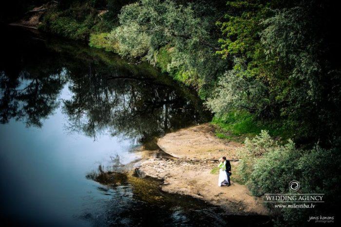 kāzas Līgatnē, kāzu fotosesija