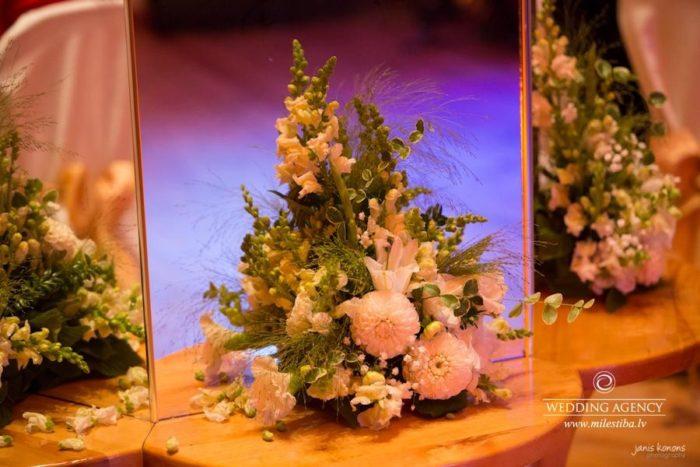 kāzu floristika, Pļavnas