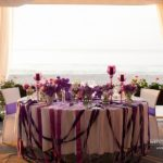 kāzu galdu dekori