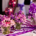 kāzu ziedi galdiem