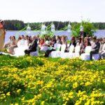 laulību ceremonija Meinarda salā