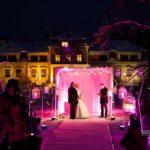 kāzas ziemā pie Dikļu pils